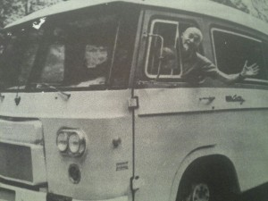 "Freeman travelled around the country visiting former patients in his ""lobotomobile""; a last ditch effort to prove the medical success of lobotomies."